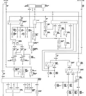 1981 Honda Prelude California Body Wiring Diagram