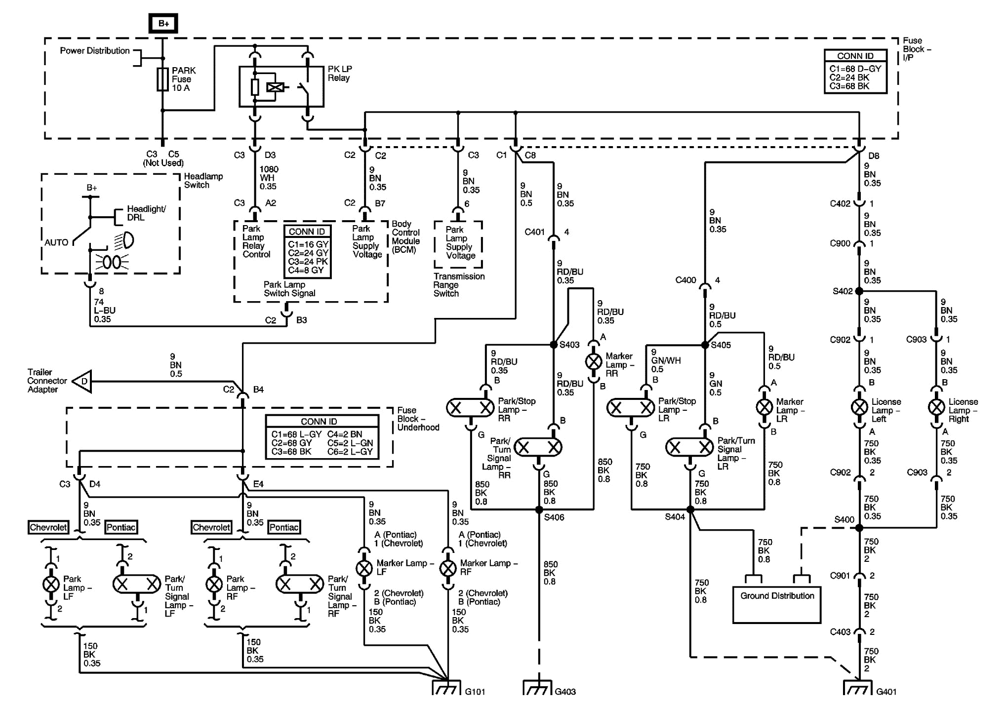 Pontiac Wiring Diagram