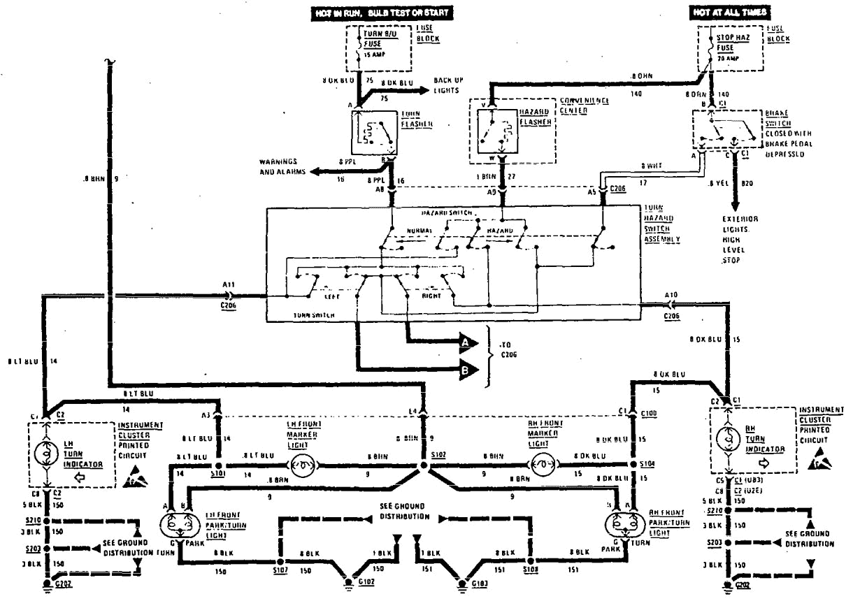Wiring Diagram Olds Ciera