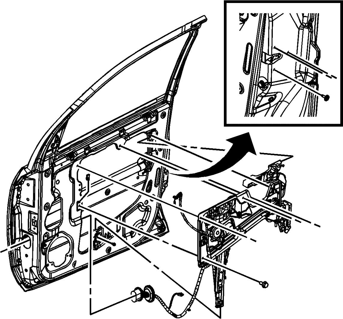 Chevrolet Equinox Window Motor Regulator