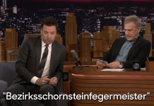 Free Beer and Hot Wings Christoph Waltz Hilariously Tests Jimmy Fallon's German Skills