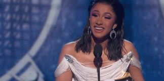 Cardi B Says She Should Start Smoking Weed During Grammys Acceptance Speech