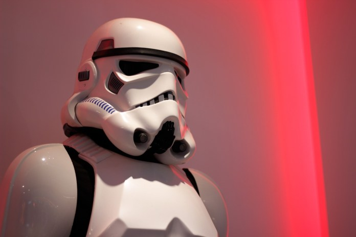 Police Chase Ends In Armed Standoff With Stormtrooper Statue