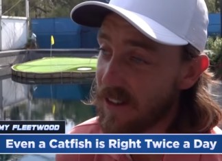 Jimmy Fallon Has PGA Pros Drop Hilarious Phrases Into Interviews And It's Great