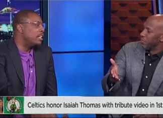 The Awkward Moment Chauncey Billups Calls Out Paul Pierce About Isaiah Thomas Tribute Video