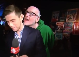 Free Beer and Hot Wings Canadian Reporter Licked By Gross Comedian On Live TV