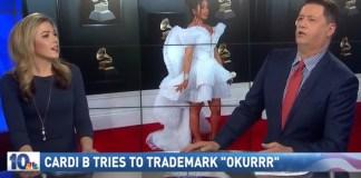 Anchor Fails About As Hard As Joe At Saying Cardi B's 'Okurrr'