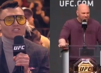 Dana White Has Hilarious Reaction To Goofball's Question