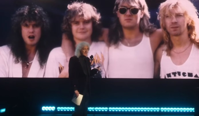 Brian May Tells How Joe Elliot Saved His Life During Def Leppard Induction Speech