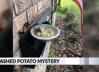 Mississippi Neighborhood Finding Mysterious Bowls Of Mashed Potatoes