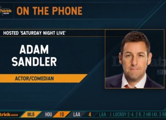 Adam Sandler Talks SNL And Chris Farley Tribute With Dan Patrick