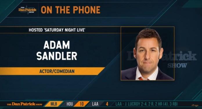 Adam Sandler Talks SNL And Chris Farley Tribute With Dan Patrick
