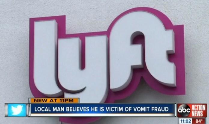 Lyft Rider Believes He Is Victim Of 'Vomit Fraud'