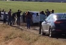 100 People Stuck In Mud Following GPS Down Denver Dirt Road