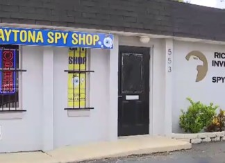 Burglars Try Breaking Into Spy Shop But Fail To Shatter The Glass