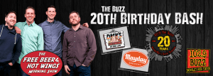 Live in Nashville, TN with 102.9 The Buzz