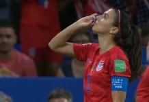 USA Women's Soccer Team Defeats England To Move To World Cup Finals