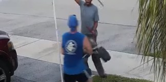 Tussle Over Neighbor's Trash Ends In Sword Fight