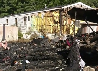 Man Clearing Weeds With Blow Torch Destroys Three Homes In Trailer Park Fire
