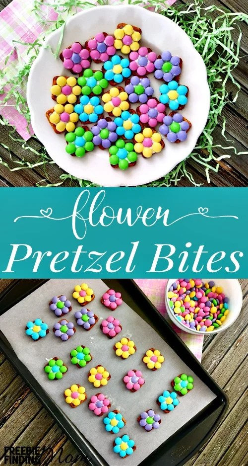Pretzel Snack Recipe Idea: Flower Pretzel Bites