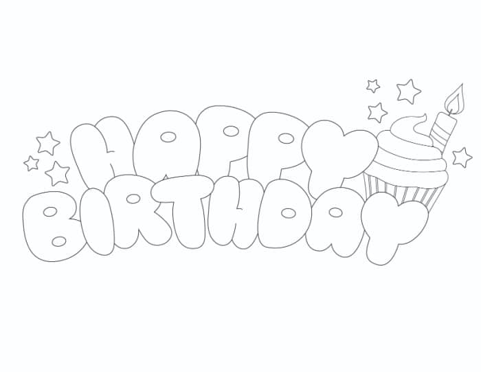Happy Birthday Bubble Letters 3 Styles Freebie Finding Mom