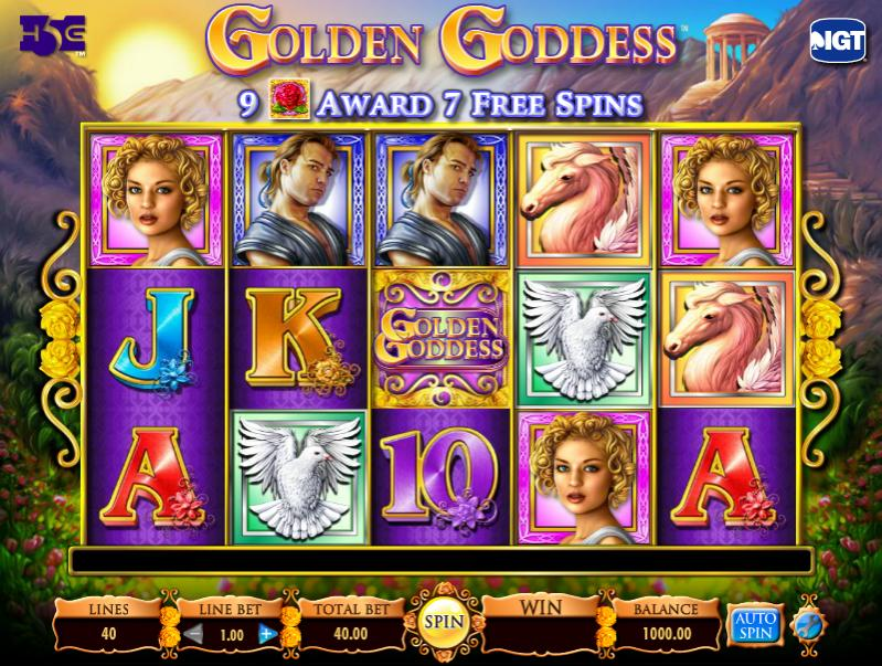 golden-goddess-slot review IGT