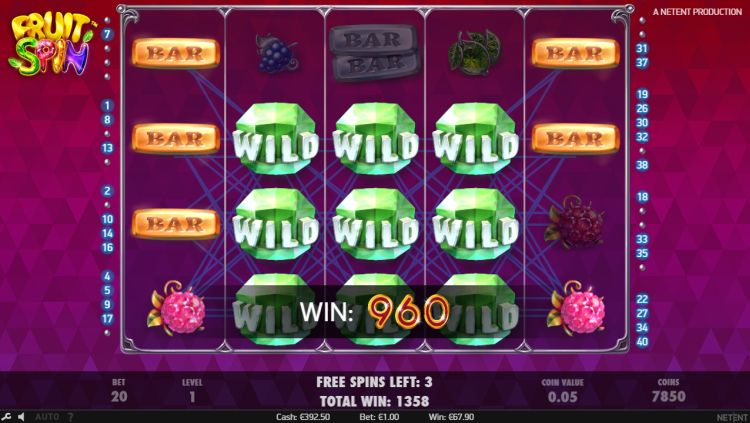 Fruit spin slot review