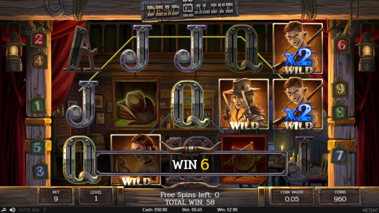 Dead or Alive II netent slot