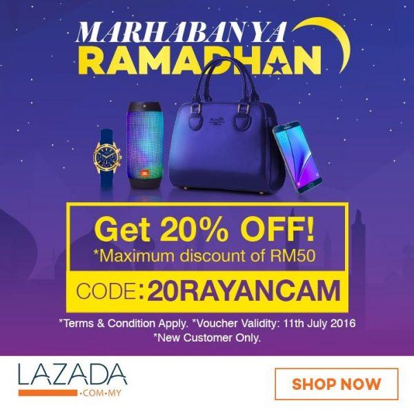 Raya Promotion - Lazada Promo Code