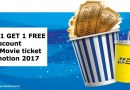GSC BUY 1 FREE 1 Promotion & Discount movie ticket 2017