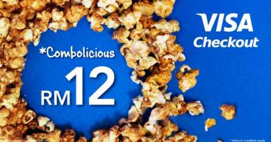 GSC Combo Promotion – Combolicious Flat RM12 for Visa Checkout