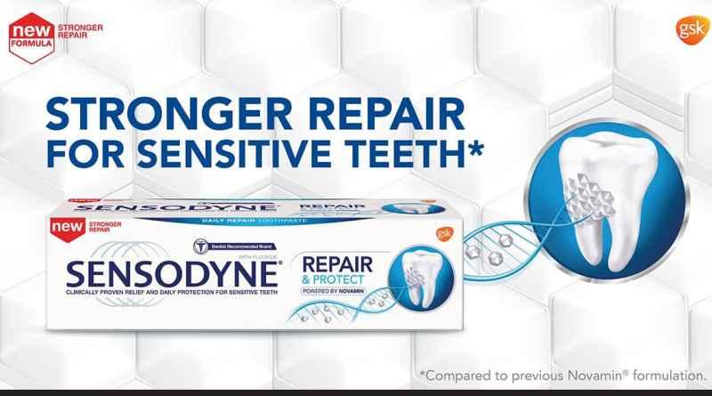 Free Sensodyne toothpaste sample