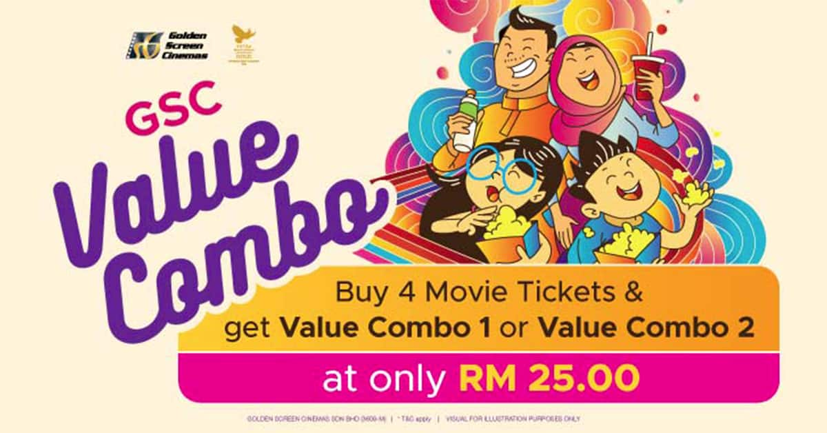 Check Out The Brand New GSC Value Combo Promotion