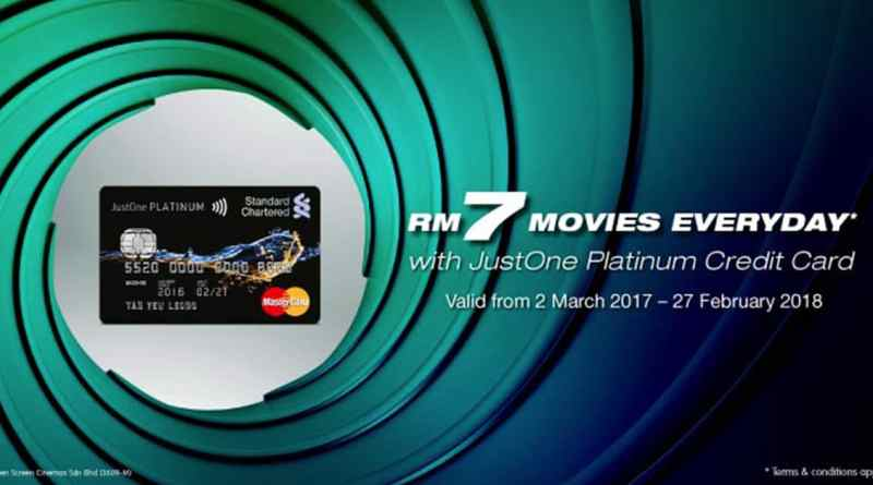 SCB GSC RM7 promotion