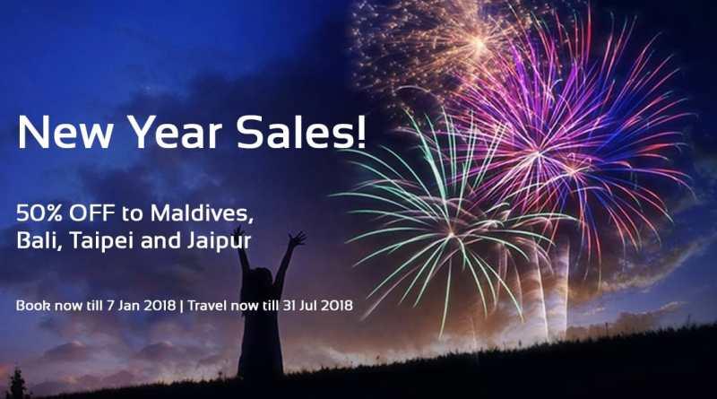 AirAsia New Year Sales