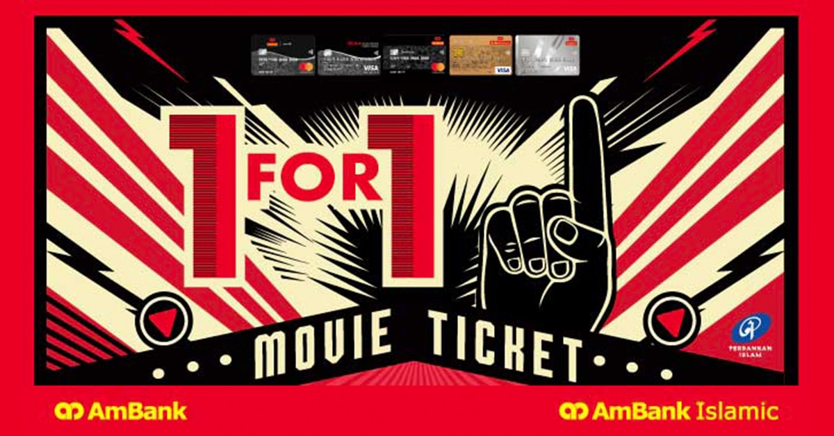 Ambank Buy 1 Free 1 In GSC cinemas promotion 2018