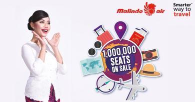 Malindo 1 Million seats on sale