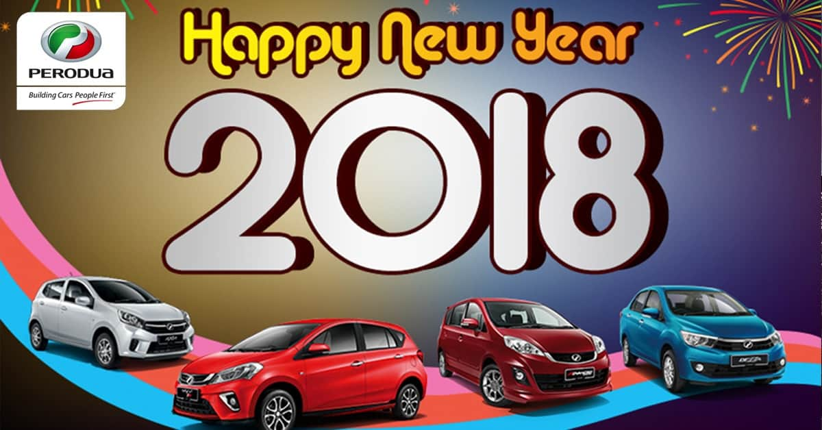 HAPPY NEW RIDE - Perodua Promotion 2018