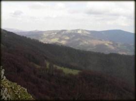 Pogled sa grebena Beljanice ka Straži