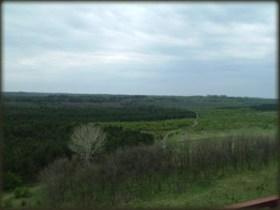 Pogled sa tornja na Korni