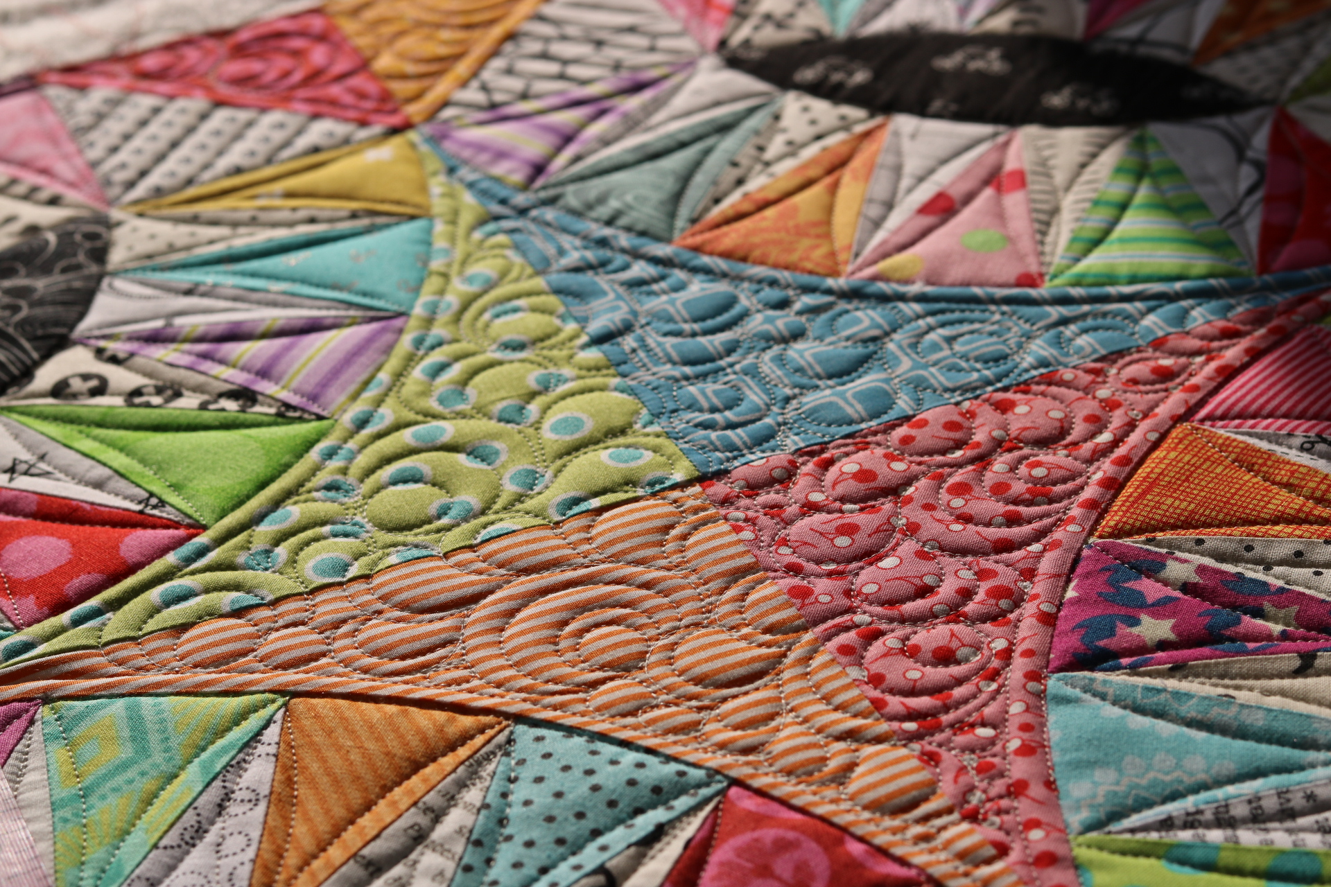 Emma S Pickled Orange Peel Quilt Free Bird Quilting Designs