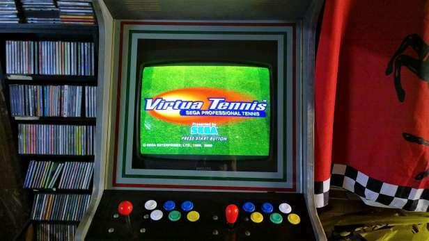 recreativa virtua tennis dreamcast