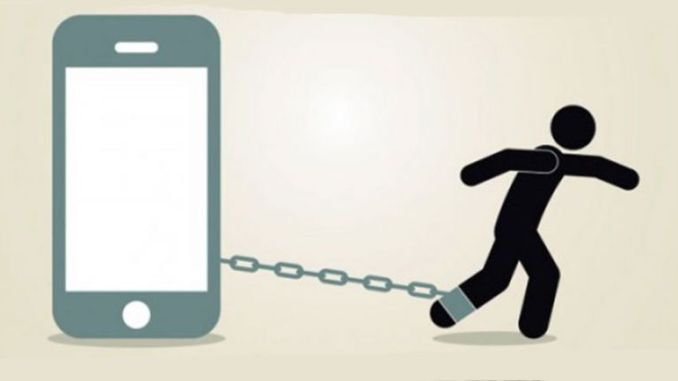 adictos al telefono android