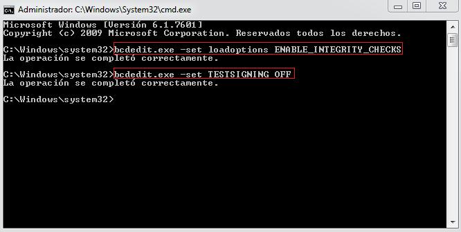 Desactivar Mensaje Modo Prueba Windows 7 Compilación 7601 Freebox Informática