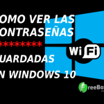 COMO SABER LA CONTRASEÑA DE MI WIFI EN WINDOWS 10