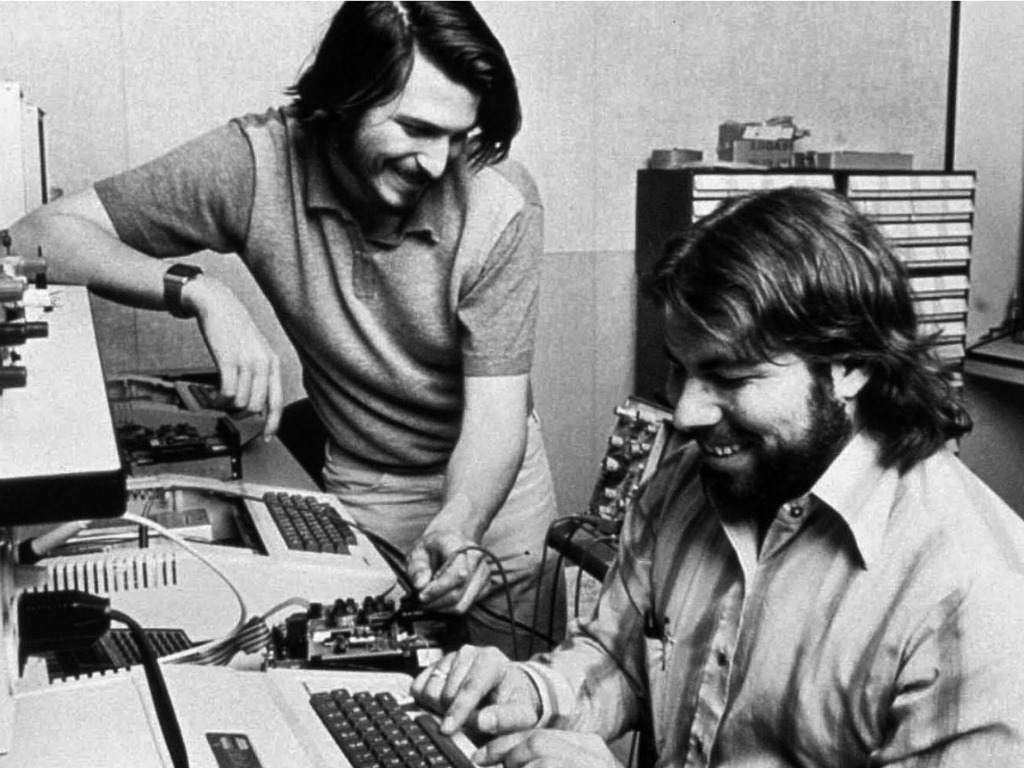 Steve Wozniak and steve jobs apple history