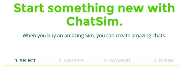 buy chatsim now