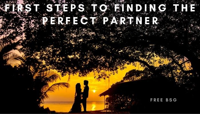 First Steps To Finding The Perfect Partner