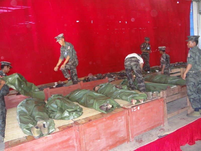 Burma Army Kills 21 Kachin Ta Ang And Arakan Trainees