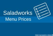 saladworks menu prices